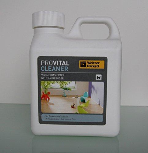 Vital CLEANER-wischpf lege-Neutral detergente per parquet, laminato e sughero pavimenti-1litro-da Weitzer