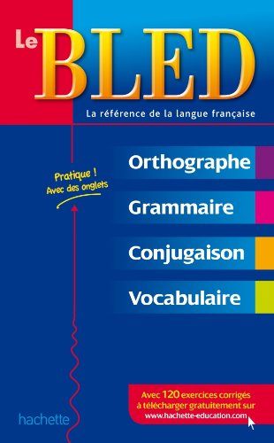 Book Sale Bled Le Bled Orthographe Grammaire