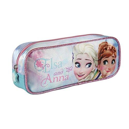 Disney Frozen Estuche portatodo Rectangular (Artesanía Cerdá 2100001931)