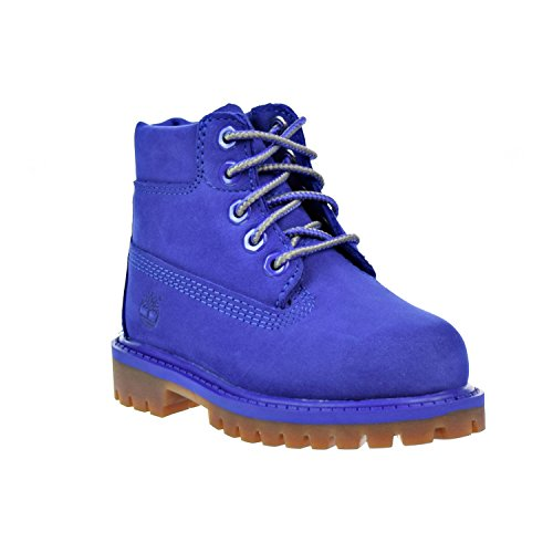 Timberland 6 Inch Premium Waterproof Toddler s Boots Blue tb0a1p6k  7 M US