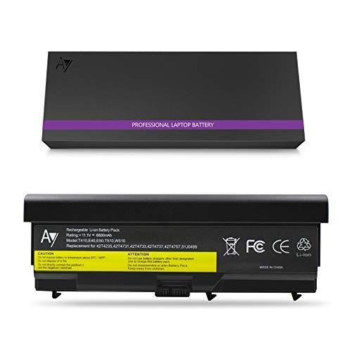 0578 Laptop Akku (Lenovo T410 Batterie 9-Zoll, AYIPE Hochleistungs Ersatz Laptop Akku für Lenovo IBM Thinkpad E40 E50 0578 T410 T420 T510 T520 W510 W520 E420 E425 E520 E525 L410 L412 L420(Nicht für T530/W530))
