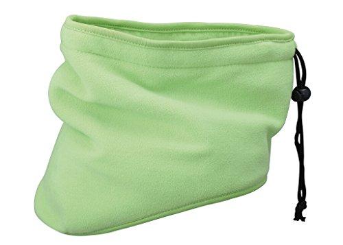 Myrtle Beach Cache-nez Thinsulate™ vert-citron