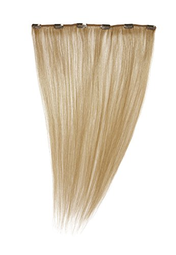 Love Hair Extensions - LHE/A1/QFC12/18/16 - 100 % Cheveux Naturels - Barrette Unique Extensions à Clipper - Couleur 16 - Blond Sahara - 46 cm