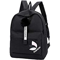 LEMONN Preppy Style Fashion Waterproof Women Girls Backpack Korean Design Drawstring Chain travel College Office Bag…