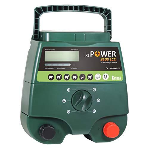 Weidezaungerät Eider XE Power 9100, 12V & 230V Kombigerät, wahnsinnige 12.000V bei 6,00 Joule - 2