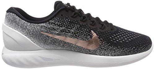Nike Herren Lunarglide 9 X-Plore Laufschuhe Schwarz (Black/summit White/dark Grey/metallic Red Bronze 001)