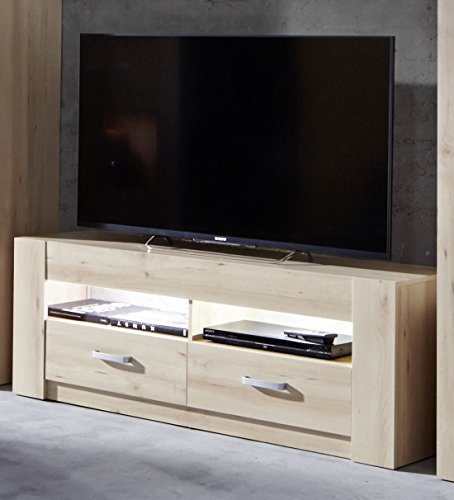 trendteam NOV31666 TV Möbel Lowboard Edelbuche Natur Nachbildung
