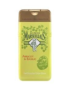 Le Petit Marseillais - Gel Douche - Cueillettes Fruitées - Abricot et Basilic - 300 ml - Lot de 2