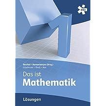 Reichel Das ist Mathematik 1, Lösungen by Hans-Christian Reichel (2012-01-02)