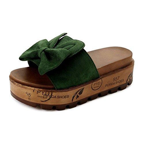 Dispone Pantofole Fondo Spesso Pantofola Indossare Le Elegante Infradito Sexy Antiscivolo Coreana Versione Fuori fq6xH
