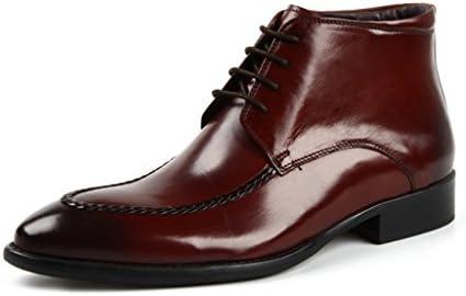 Zapatos Clásicos de Piel para Hombre Zapatos de Cuero para Hombres Ropa Formal Zapatillas Altas de Estilo Británico...