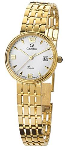 Orphelia Orologio Analogico Quarzo Donna con Cinturino in Oro Giallo MON-7078/1