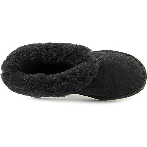 Emu Australia Talinga Deluxe Femmes Daim Pantoufle Black