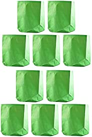 "YUVAGREEN Terrace Gardening Leafy Vegetable Green Grow Bag (12"" X 12"") - (P"