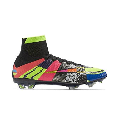 Nike Herren Mercurial Superfly Se Fg Fußballschuhe Plateado (Mtllc Silver / Vlt-Brght Bl-Blk)