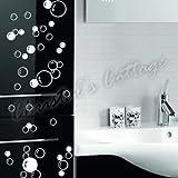 88Bubbles Art Wand Badezimmer Fenster Dusche Fliesendekor Aufkleber Kid Auto Aufkleber
