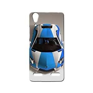 BLUEDIO Designer 3D Printed Back case cover for Lenovo A6000 / A6000 + - G2748