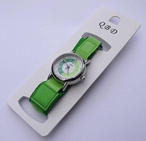 KidsBoysGirls-Green-Time-TutorTeacher-Watch-QBD