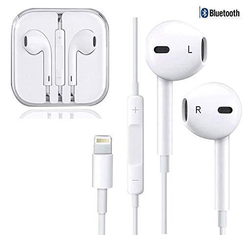 Humupii In-Ear Cuffie Auricolari con Telecomando e Microfono per iPhone 7 8 X XS Xs Max 7 Plus 8 Plus Xr