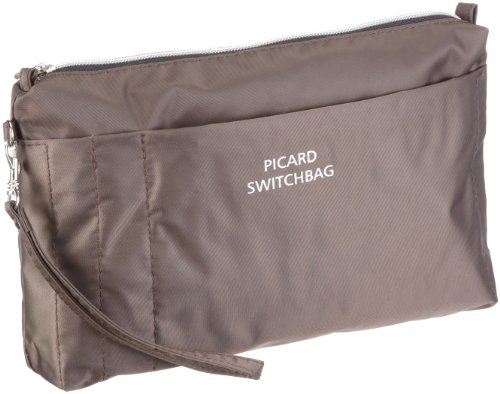 Picard Switchbag 7837 Damen Kosmetiktaschen, Braun (cafe 055), 26x16x5 cm (B x H x T)