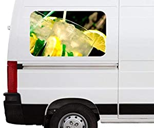 camiones cuba: Pegatina Coche Cocktail Mojito Alcohol Cuba Ron Car Autocaravana Auto Tuning Dig...