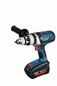 Bosch Professional 06019C1101 Perceuse à percussion sans fil GSB 36 VE-2-Li