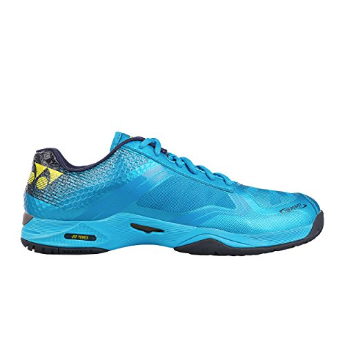 Yonex Uomini Power Cushion Aerus Dash Scarpe Da Tennis Scarpa Per Tutte Le Superfici Blu - 47