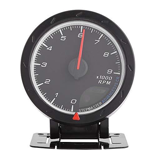 Keenso Drehzahlmesser 3,15 zoll 9000 RPM LED Digitale Drehzahlmesser Autometer Shift mit LED Hintergrundbeleuchtung