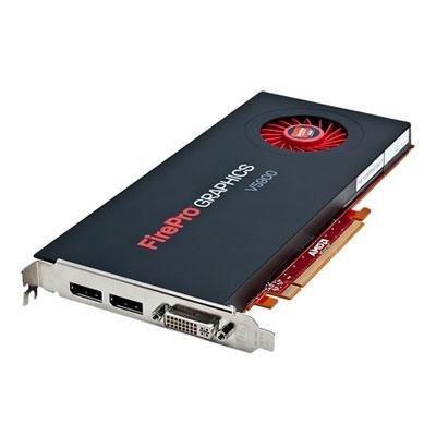 ATI Technologies FirePro V5900 Grafikkarte (PCI-e, 2GB GDDR5 Speicher, Dual DP/DVI, 1 GPU)