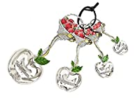 Ganz 4-Piece Measuring Spoons Set - Basket of Apples