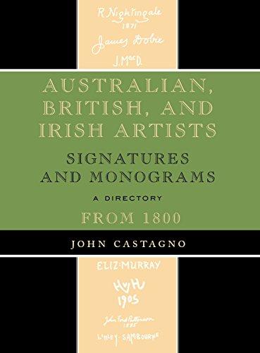 Australian, British and Irish Artists: Signatures and Monograms from 1800: