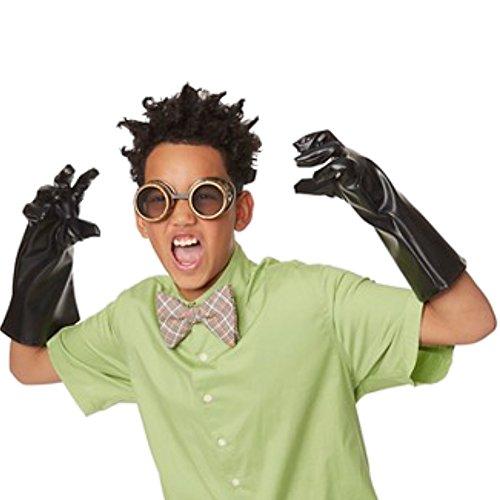 Mad Erfinder Kostüm (Mad Scientist Erfinder Kinder Fasching Halloween Karneval Kostüm Zubehör Googles Brille +)