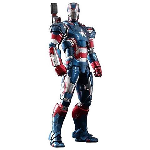 Iron Man 3 MMS Diecast Großfigur: Iron Patriot (Hot Toys)
