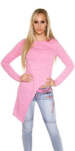 Koucla -  Maglia a manica lunga  - Donna Shocking Pink