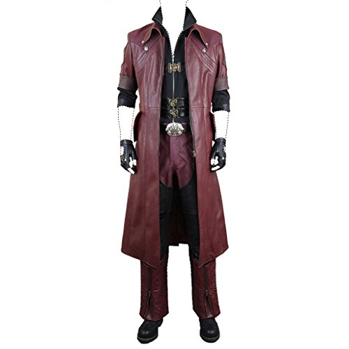 Devil May Cry 4 Cosplay Costume Dante Movie Ver. Dx Costume Set Large (Dante Kostüm)