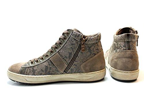 Nero Giardini P719243D Tortora Sneakers Scarpe Donna Calzature Comode Tortora