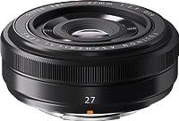 Fujifilm XF 27mm f/2.8 - Objetivo (apertura f/16-2.8, MILC) negro