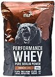 nu3 Performance Whey Protein | Chocolate Blend | 1kg Proteinpulver | Voller Schokoladen-Geschmack | Eiweißpulver mit guter Löslichkeit bei hohem Proteingehalt