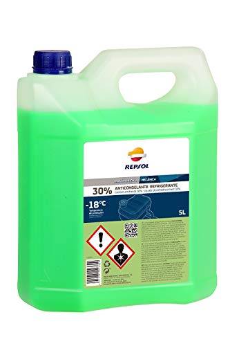 REPSOL ANTIFREEZE 30% (GREEN) 5L