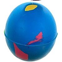 4 x Hard Rubber Dog Balls - Play n Shoot - Red, Green, Yellow & Blue