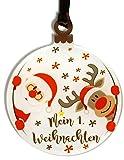 Gravure Events Mein erstes Weihnachten - Christbaumschmuck (Weihnachtskugel Mein erstes Weihnachten - Kugel - Christbaumkugel) ref AL-DkoPx-Pn