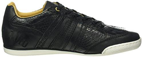 Pantofola d'Oro - Imola Cocodrillo Uomo Low, Scarpe da ginnastica Uomo Schwarz (.25Y)