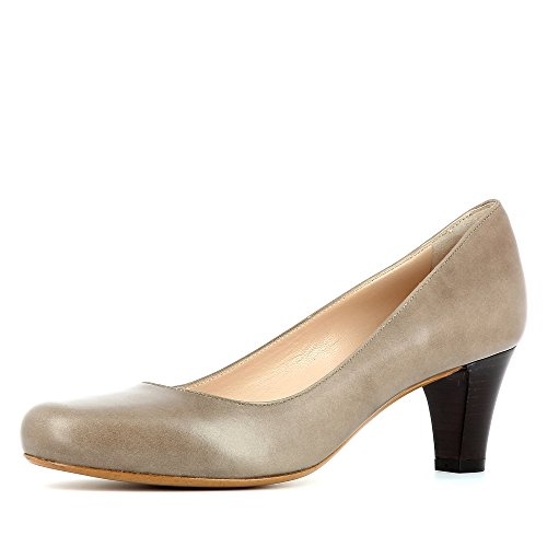 Evita Shoes Giusy Damen Pumps Glattleder Fango 35