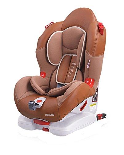 Chipolino Kindersitz Rally Gruppe 1/2 (9 - 25 kg), Isofix, verstellbar (Braun)