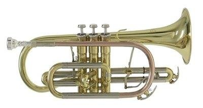 Bach CR651 Bb-Kornett (inkl. Mundstück, Ventilöl und Leichtetui)