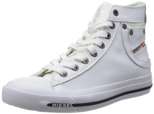 Diesel Damen Magnete Exposure IV Mid Sneaker, Weiß (White T1003), 38 EU