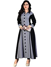 Karm Enterprise New Formal Designer Long Cotton Kurties And Dress For Girls And Women