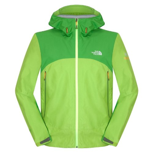 The North Face Alpine Project Jacket Men Größe XL tree frog green- flashlight green (Men Alpine North Face Jacket)