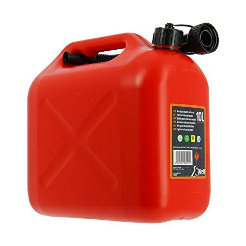 Cartec 506021 Jerrican Homologué Carburant 10 L