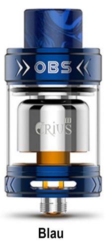 Obs Crius 2 RTA Verdampfer 3,5ml Farbe Blau